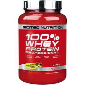 SCITEC 100% Whey Protein Professionell Powder 920g Citron Cheesecake